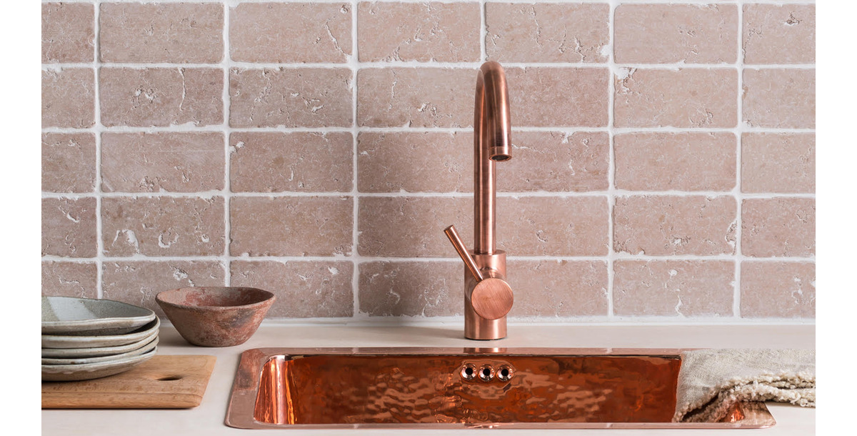 Copper Sink and Tap